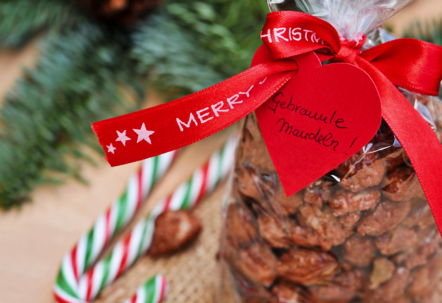 Weihnachten, Gebrannte Mandeln