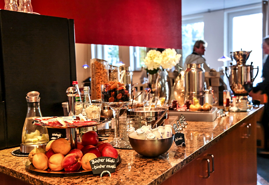 Best Western Hotel de Ville Eschweiler, Frühstücksbuffet