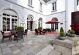Best Western Hotel de Ville Eschweiler, Terrasse