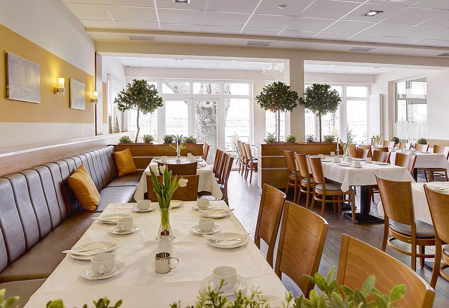 Hotel Lindenhof Osterspai Rhein, Restaurant