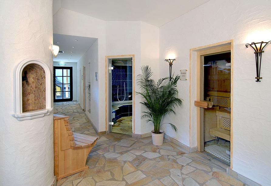 Romantik Hotel Stryckhaus, Wellnessbereich