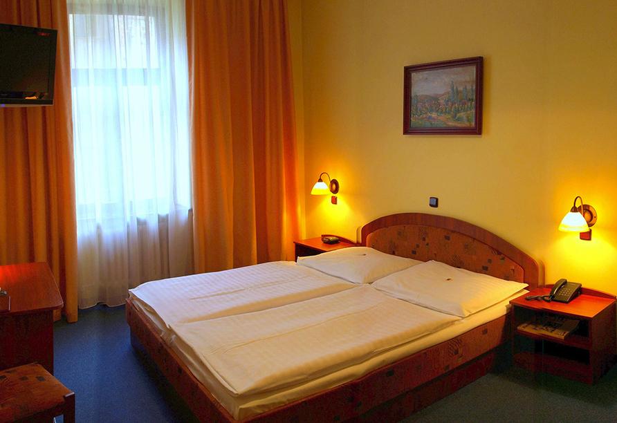 Hotel Victoria in Pilsen in Tschechien, Zimmerbeispiel