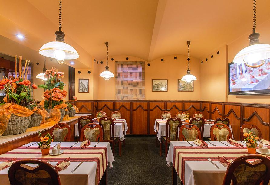 Hotel Victoria in Pilsen in Tschechien, Restaurant