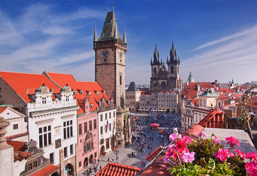 Hotel Royal Prague in Prag, Marktplatz