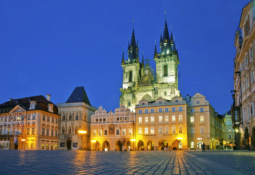 Hotel Royal Prague in Prag, Teynkirche am Altenstätter Ring