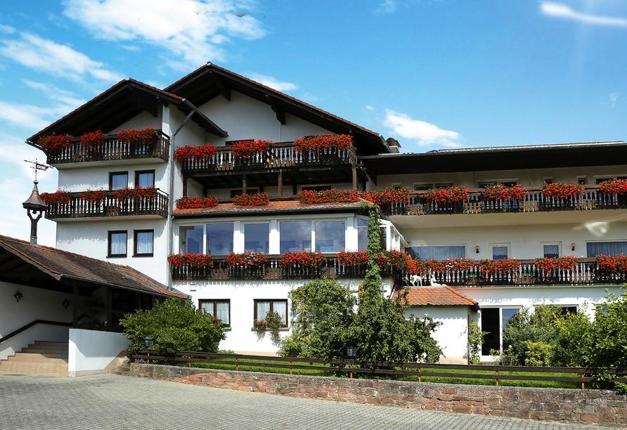 Hotel Zur Krone in Michelstadt im Odenwald Außenansicht