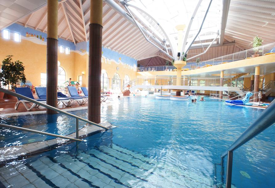 Hotel Zur Krone in Michelstadt im Odenwald, Ausflugsziel Odenwald Therme