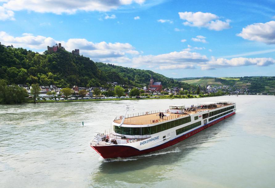 MS Rhein Symphonie, Außenansicht