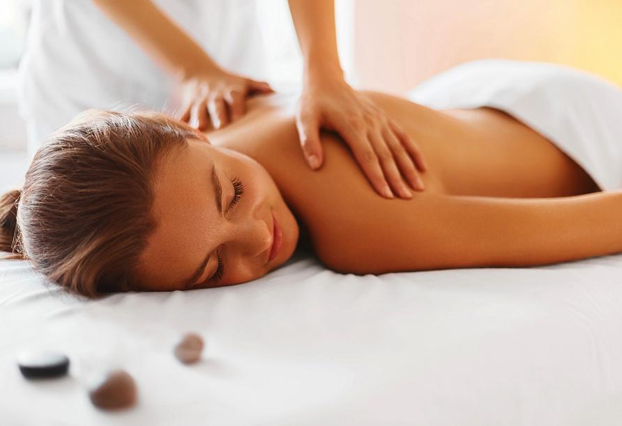 Hotel Reschenhof in Mils Tirol, Massage