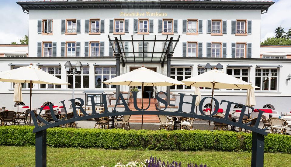 Kurhaushotel Bad Salzhausen in Nidda, Außenansicht