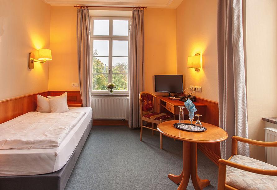 Kurhaushotel Bad Salzhausen in Nidda Wetterau, Zimmerbeispiel