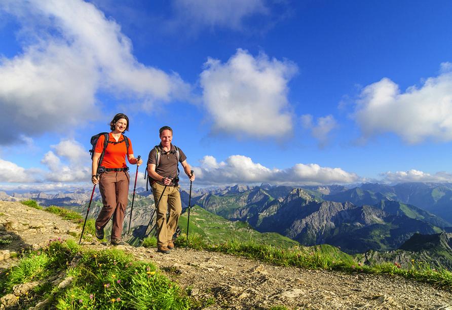 Rundreise Trentino-Gardasee, Wandern