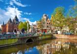MS Alina, Amsterdam