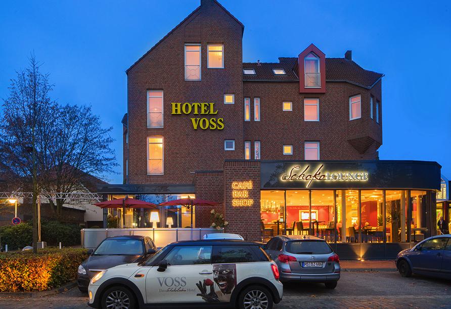 Voss - Das Schokoladenhotel in Westerstede, Außenansicht