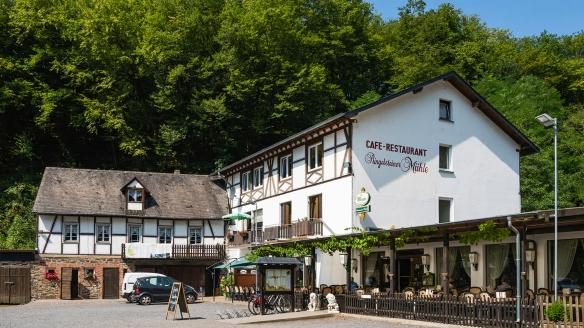 Landhotel Ringelsteiner Mühle in Moselkern an der Mosel Außenansicht