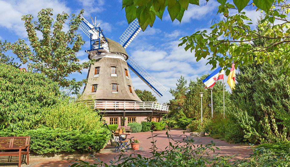 Ferien Hotel Lewitz Mühle, Außenansicht Mühle
