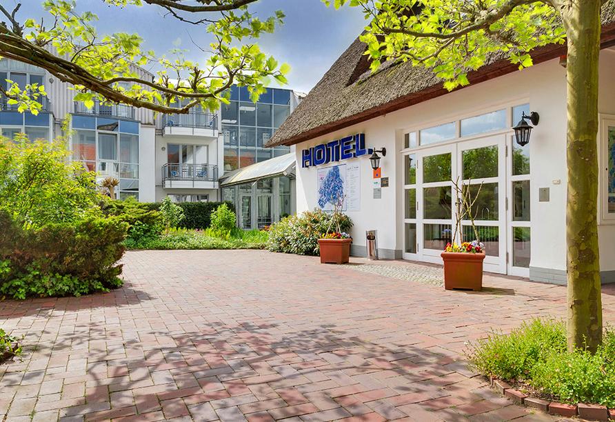 Ferien Hotel Lewitz Mühle, Eingangsbereich