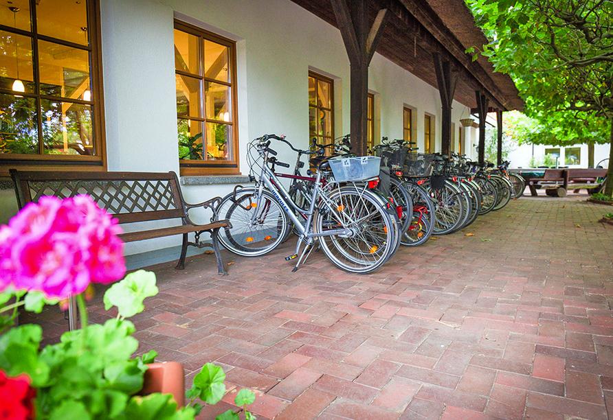 Ferien Hotel Lewitz Mühle, Fahhräder