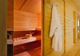 Ferien Hotel Lewitz Mühle, Sauna