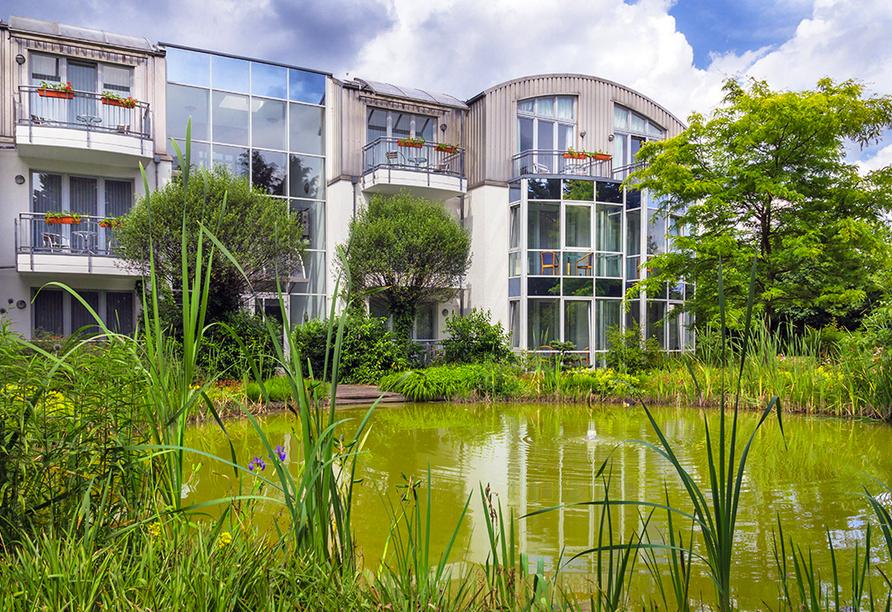 Ferien Hotel Lewitz Mühle, Garten