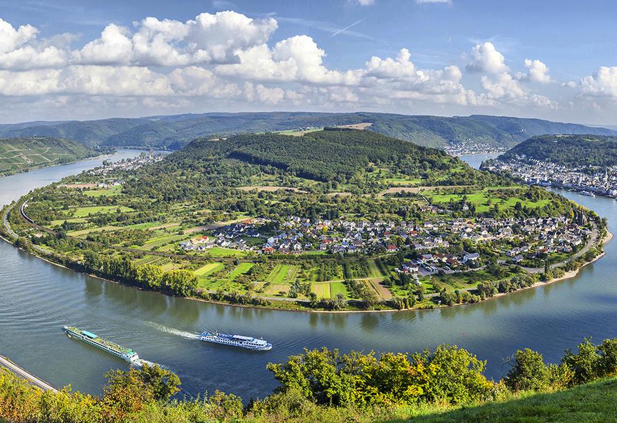 DCS Alemannia, Rheinschleife bei Boppard