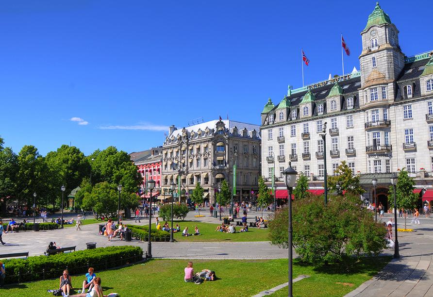 Color Line Minikreuzfahrt Kiel Oslo, Oslo Innenstadt