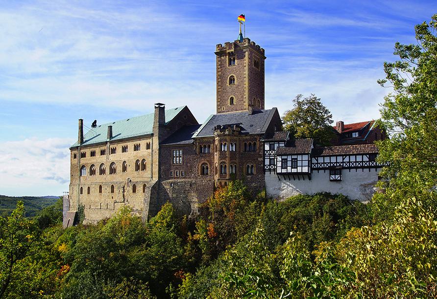 Hotel Stadt Mühlhausen in Mühlhausen in Thüringen, Ausflugsziel Eisenach