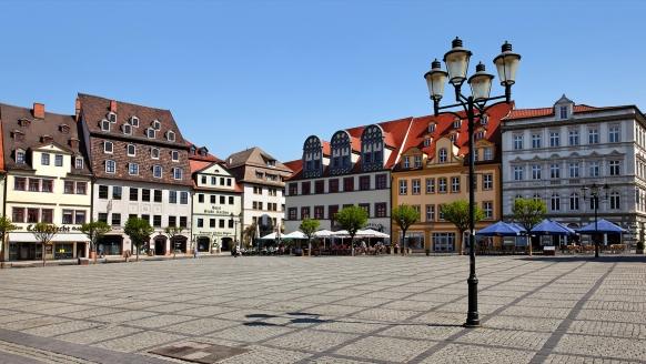Center Hotel Kaiserhof in Naumburg, Marktplatz