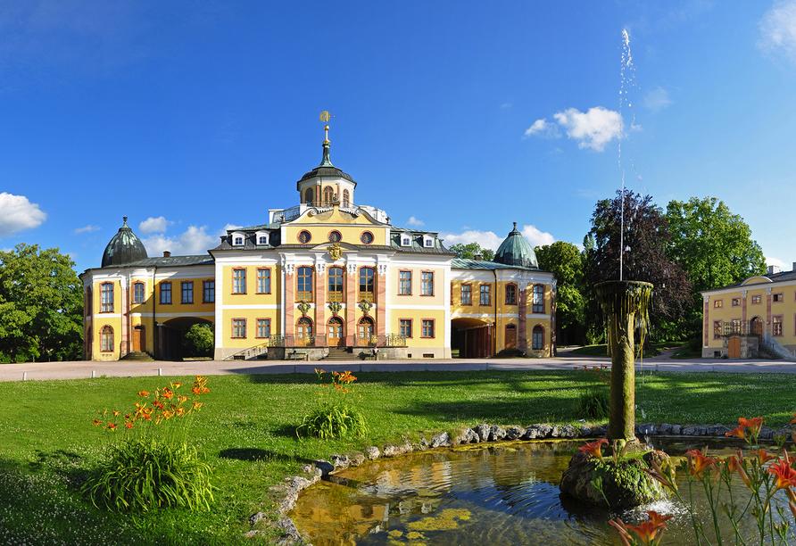 Kultur & Natur im Osten von Deutschland, Schloss Belvedere Weimar