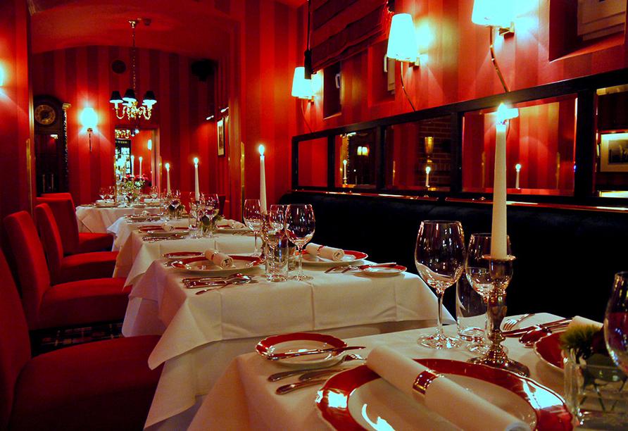 Kultur & Natur im Osten von Deutschland, Restaurant Romantik Hotel Dorotheenhof Weimar