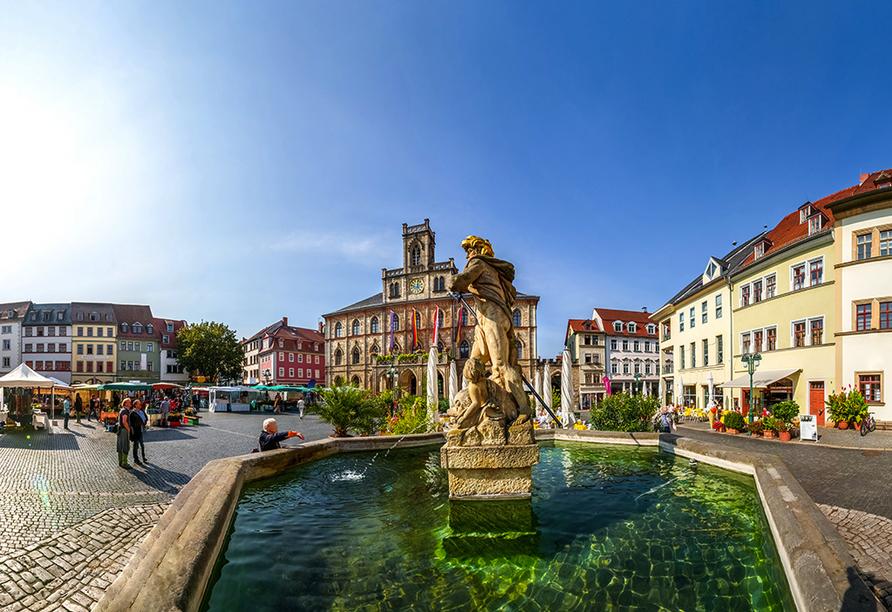 Kultur & Natur im Osten von Deutschland, Weimar