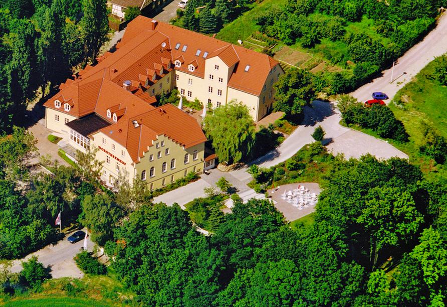 Kultur & Natur im Osten von Deutschland, Außenansicht Romantik Hotel Dorotheenhof Weimar