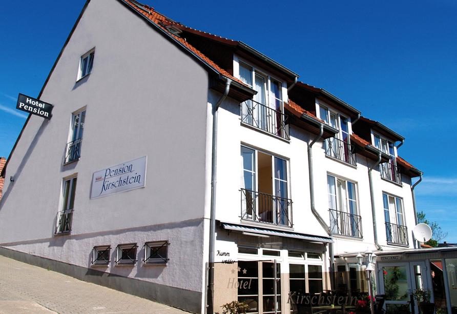 Hotel Kirschstein in Wolgast an der Ostsee, Außenansicht