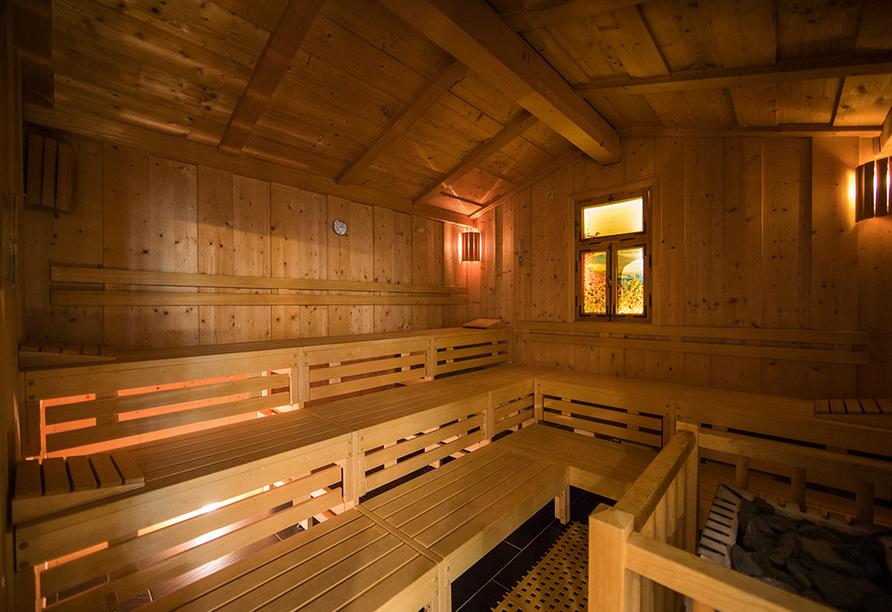 Hotel Saxenhof der Rhöner Botschaft, Sauna