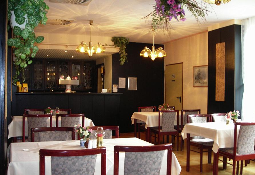 Hotel Zum Gründle in Oberhof, Restaurant