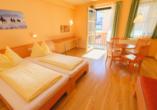 JUFA Hotel Kaprun, Zimmerbeispiel