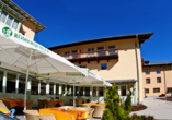 JUFA Hotel Kaprun, Terrasse