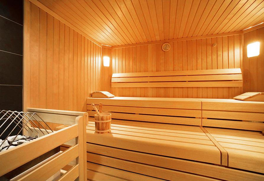 Hotel Taxacher in Kirchberg, Tirol, Österreich, Sauna