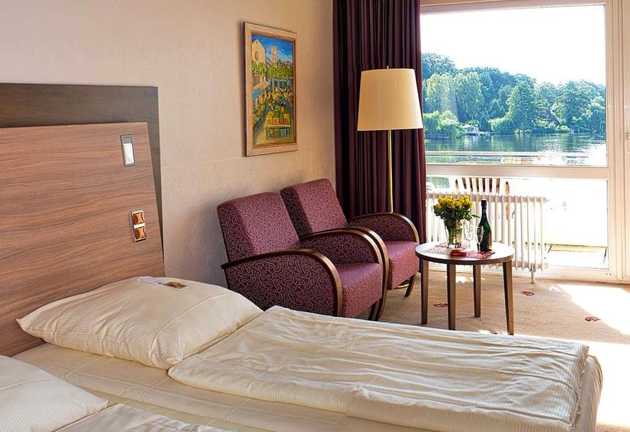 Seehotel Schwanenhof in Mölln, Zimmerbeispiel