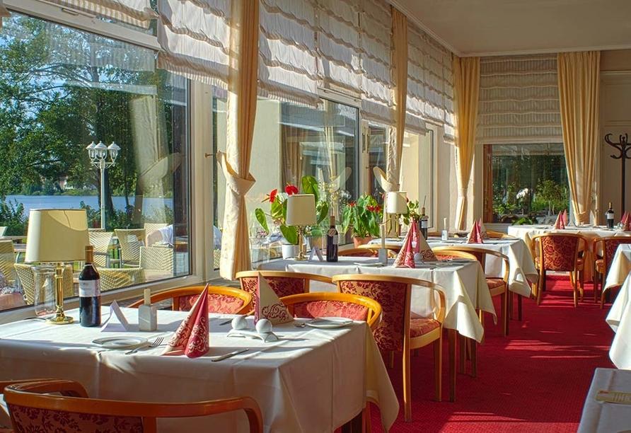 Seehotel Schwanenhof in Mölln, Restaurant