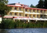 Seehotel Schwanenhof in Mölln, Außenansicht