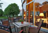Seehotel Grossherzog von Mecklenburg, Terrasse