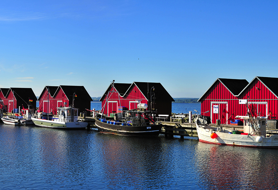 Seehotel Grossherzog von Mecklenburg, Fischereihafen