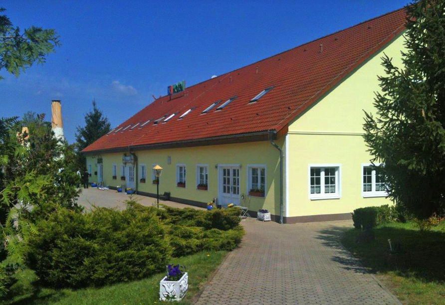 Hotel am Mühlberg, Außenansicht