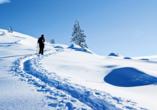 Post Hotel St. Valentin, Schneeschuhwandern
