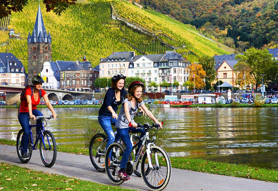 Fahrradreise entlang der Mosel