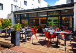 Holiday Inn Dresden - City South, Terrasse