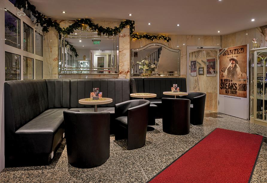 Hotel-Restaurant Barbarossahof, Lobby