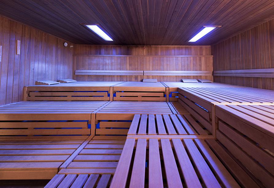 Maifeld Sport- und Tagungshotel in Werl, Sauna