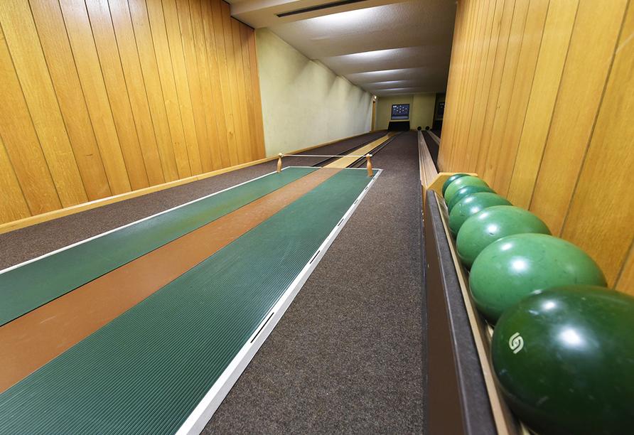 Maifeld Sport- und Tagungshotel in Werl, Kegelbahn